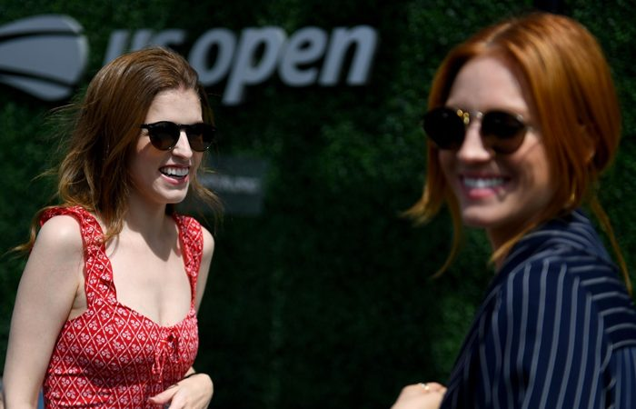 Anna Kendrick - at the 2019 US Open at the USTA in New York